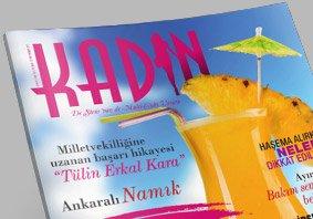 Kadin Dergisi Haziran 2013 Kapak